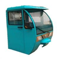 电动三轮车驾驶室车棚遮阳棚挡雨蓬汽油摩托车封闭驾驶室篷雨篷