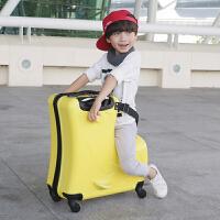 儿童旅行箱可坐可骑万向轮20寸拉杆箱男宝宝行李箱女小孩卡通箱包