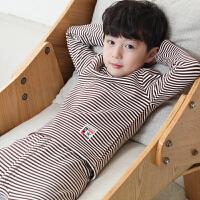 男童保暖内衣套装春秋衣裤冬装加绒加厚儿童中大童家居睡衣