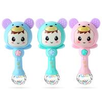婴儿摇铃0-1岁宝宝玩具儿童女手摇铃音乐节奏棒