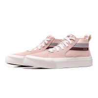 Skechers斯凯奇女鞋板鞋2018新款透气时尚滑板中帮运动鞋18070