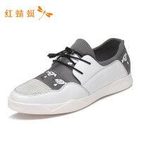 红蜻蜓新款男鞋舒适百搭软底男士潮透气休闲时尚运动鞋-