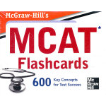 MH'S MCAT FLASHCARDS(ISBN=9780071770262) 英文原版