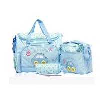 时尚妈咪包手提包可斜跨多功能大容量套装外出母婴包孕妇待产包
