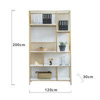 铁艺置物架客厅墙壁隔板书架墙角多层落地隔断卧室免打孔收纳柜子