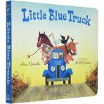 蓝色小卡车 英文原版绘本0 3岁 Little Blue Truck 儿童启蒙纸板书 常青藤爸爸英语启蒙