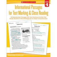 Informational Passages for Text Marking & Close Reading: Gr