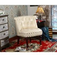北欧单人沙发椅懒人美式老虎椅阳台美甲休闲椅复古网红卧室小沙发