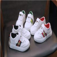 春季小白鞋儿童运动鞋男童网眼透气休闲鞋女童
