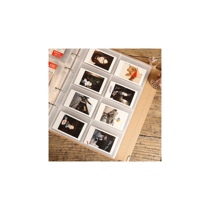 8格+3格收藏电影火车票机票插入式拍立得相册专用加页连接