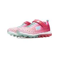 Skechers斯凯奇童鞋休闲鞋气垫女大童运动鞋80144L