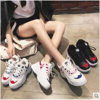老爹鞋女新款冬季韩版ulzzang百搭加绒保暖运动鞋女休闲