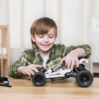 店积木沙漠赛车儿童越野车模型汽车男孩组装拼插玩具