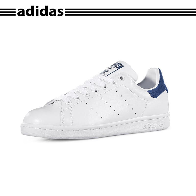 Adidas阿迪达斯 正品三叶草深蓝尾男女同款情侣鞋板鞋 BZ0483*赔十