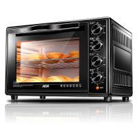 【ACA北美电器旗舰店】ATO-HB45HT大容量电烤箱家用 多功能上下独立控温双层钢化门