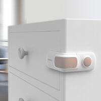 棒棒猪宝宝安全锁儿童锁扣抽屉柜门锁冰箱锁直角锁防夹手防护5个
