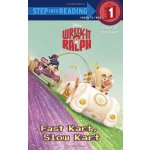 英文原版 儿童分级读物 Step Into Reading: Disney: Wreck-it Ralph: Fast