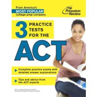 3 Practice Tests for the ACT【英文原版】普林斯顿ACT3套考试题