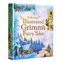 【中商原版】格林童� 15��故事合集 英文版 Usborne Illustrated Grimms' Fairy Tal