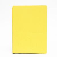 SCM至尚・创美 V32K061 商务笔记本A5记事本 柠檬黄 1本装 学生日记本厚本子 当当自营