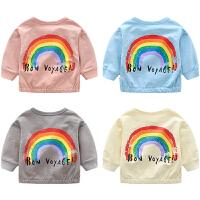 蓓莱乐女童装婴儿春秋季开衫外套男宝宝新款1岁3个月新生儿秋潮款