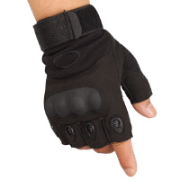 圣苏萨娜 男半指手套登山攀岩特种兵战术户外防滑耐磨运动半指手套