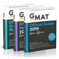 2019年GMAT官方指南套装 综合+数学+语文 英文原版 GMAT Official Guide 2019 GMAC