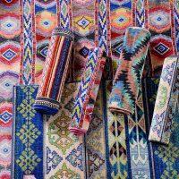 奇居良品 埃及进口客厅茶几卧室化纤地毯 多瑙河系列