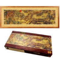 中国风清明上河图1000片带相框成人拼图减压大型风景名画创意礼物