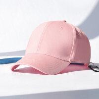 韩版棒球帽潮带环遮阳鸭舌帽百搭女学生街头嘻哈帽青年帽子男