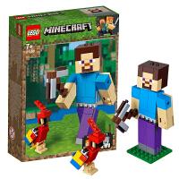【当当自营】乐高LEGO 我的世界系列 21148 主角人仔史蒂夫