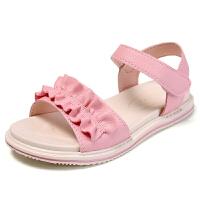 女童凉鞋平底公主鞋夏季软底儿童沙滩鞋小女孩凉鞋潮