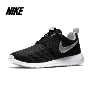 【新品】NIKE ROSHE ONE (GS)运动大童鞋599728-021黑