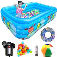 【领券立减30元】Bestway 游泳池 充气超大加厚家庭儿童戏水池 婴儿游泳圈 成年人保温水池