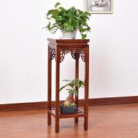 实木花架中式客厅室内榆木简约木制花几整装盆景木质花盆架子