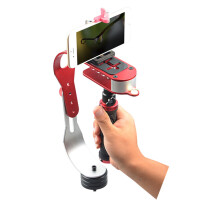 ikodoo爱酷多 运动相机GoPro/小蚁相机/手机/数码相机单反相机 通用型手持稳定仪 Hero4/3/2 跑动拍