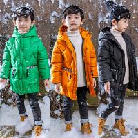 儿童男童中长款加厚棉衣外套男宝宝棉袄2018冬装新款A803