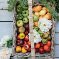 奇居良品 样板间装饰道具 仿真水果苹果梨子橘子柠檬蛇果 多款