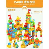儿童积木拼装玩具益智力大号大颗粒动脑小孩宝宝2一至二三3岁以上