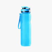 当当优品 户外运动太空杯 直饮盖 水杯 内含过滤网 便携式塑杯 蓝色 1000ML