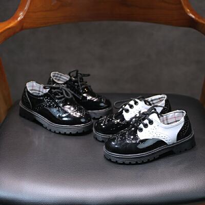 春秋儿童舞蹈鞋男女童皮鞋表演鞋单鞋公主鞋单鞋子潮