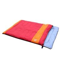 三合一双人情侣秋冬季室内睡袋 户外加厚露营野营睡袋新品
