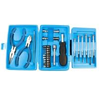 25件工具手动维修小工具箱迷你五金家用工具套装礼品 颜色随机工具箱