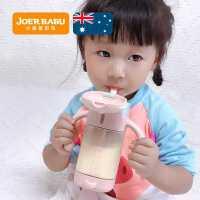小袋鼠巴布PPSU奶瓶大�����和�水杯新生��何�管式喝水1�q2��手柄