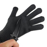 防割手套5级特种兵战术手套裁剪屠宰防护手套防身防刀薄钢丝手套