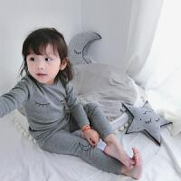 儿童睡衣2017秋冬女童宝宝卡通家居服秋衣秋裤套装韩版潮 179889