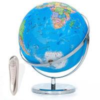 语音地球仪 32CM语音点读机中英文教学会说话的地球仪 真人发音智能早教用品