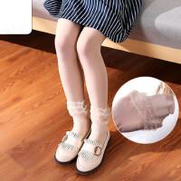 儿童舞蹈袜女童天鹅绒跳舞袜子白色连裤袜幼儿练功袜薄款