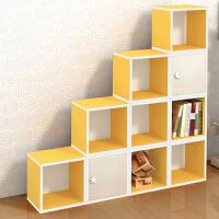【每满100减50】物有物语 收纳柜 简易家具储物收纳柜学校儿童书架自由组合彩色柜子带门