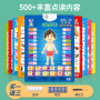 【爆款直降】早教凹凸有声挂图全套婴幼儿童玩具宝宝语音早教书籍看图识字卡送电池送挂钩